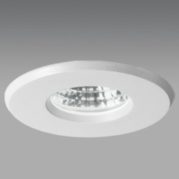 ALASKA LED-Einbaustrahler, IP54, weiß on DLS Lighting