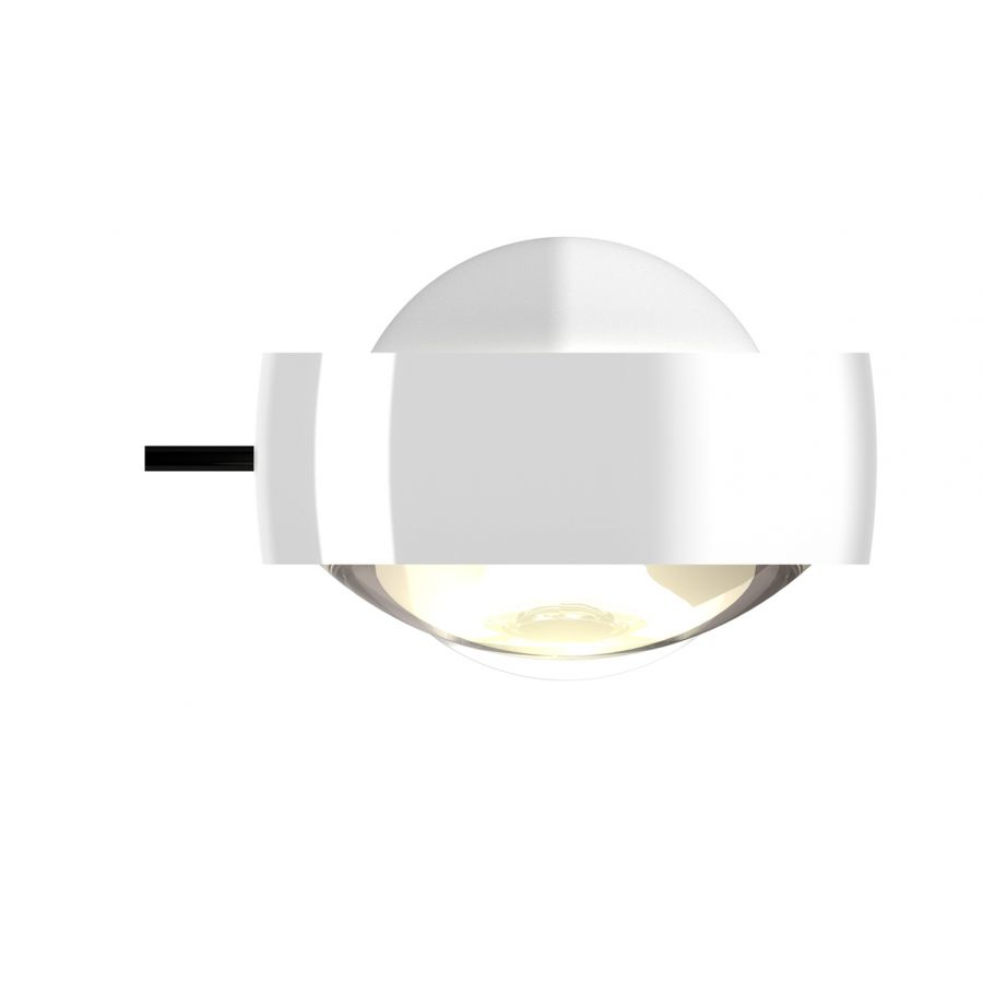 Sento verticale up C weiß glanz, body chrom glanz, mit Karbongriff, LED 3000K CRI 97