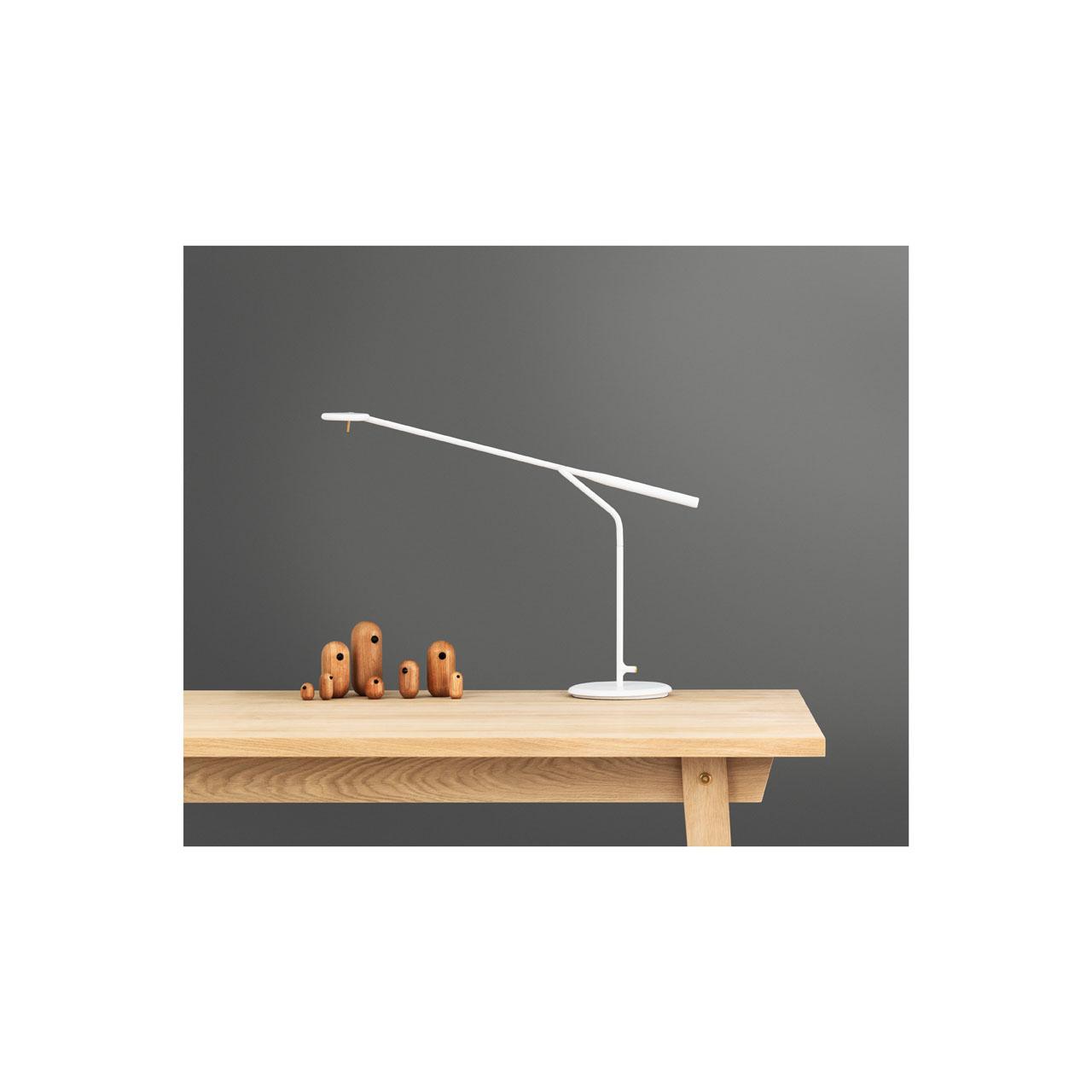 Flow Table Lamp white von Normann Copenhagen