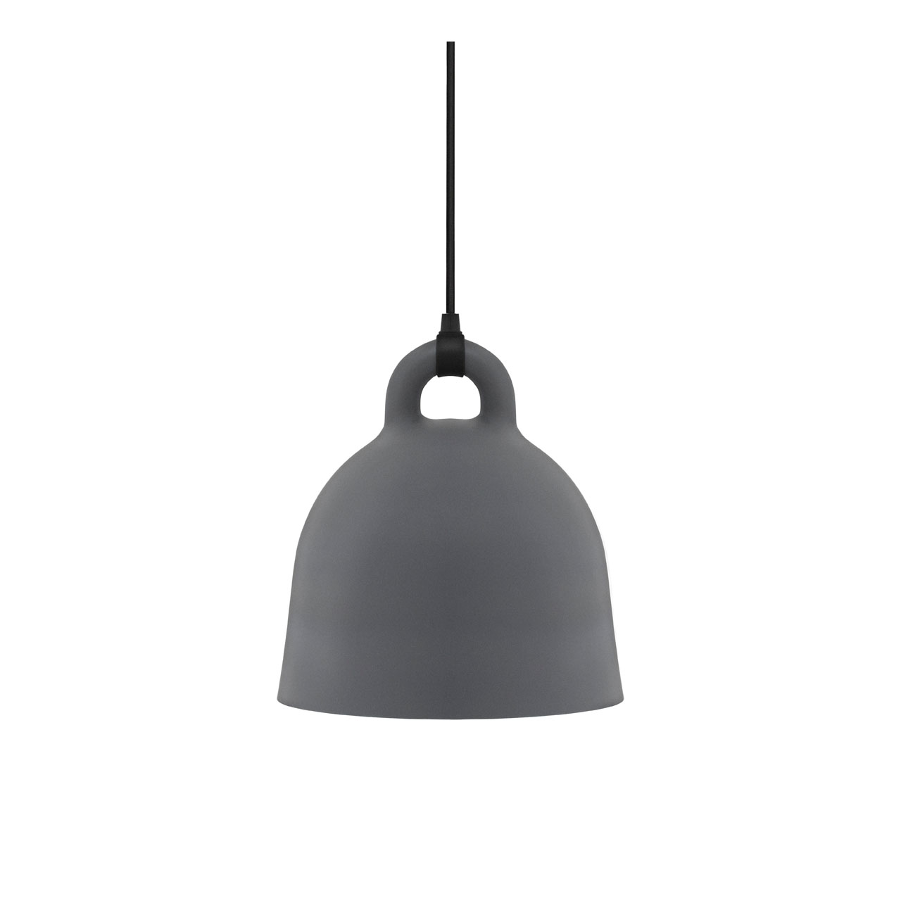 Bell Lamp Small grey von Normann Copenhagen