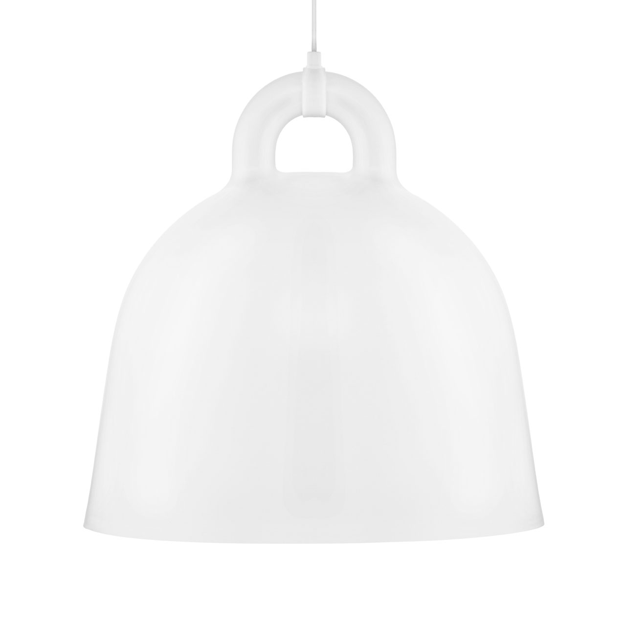 Bell Lamp Large white von Normann Copenhagen