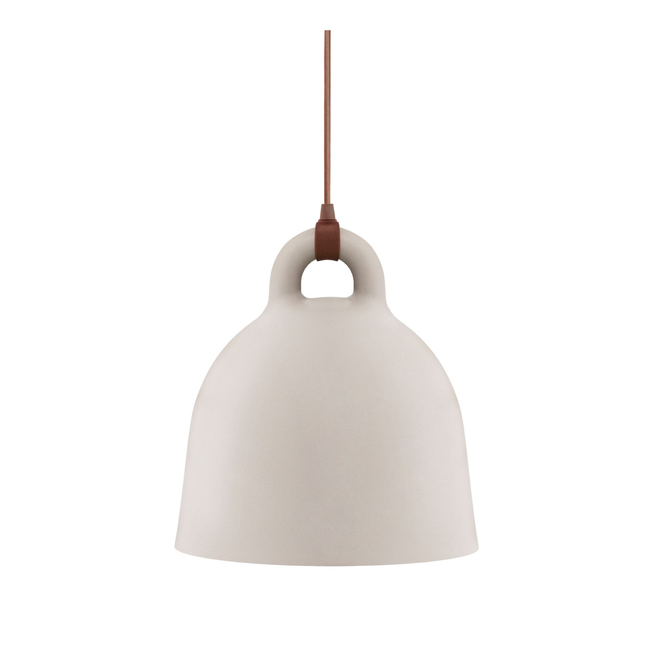 Bell Lamp Medium sand von Normann Copenhagen