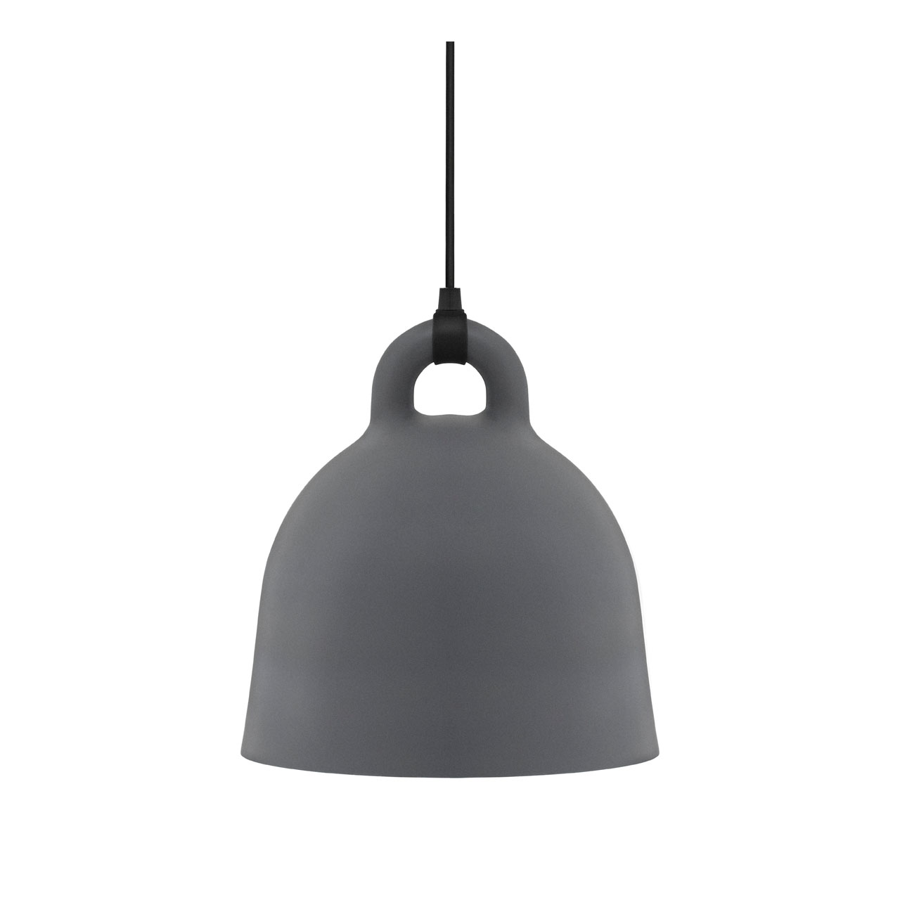 Bell Lamp Medium grey von Normann Copenhagen