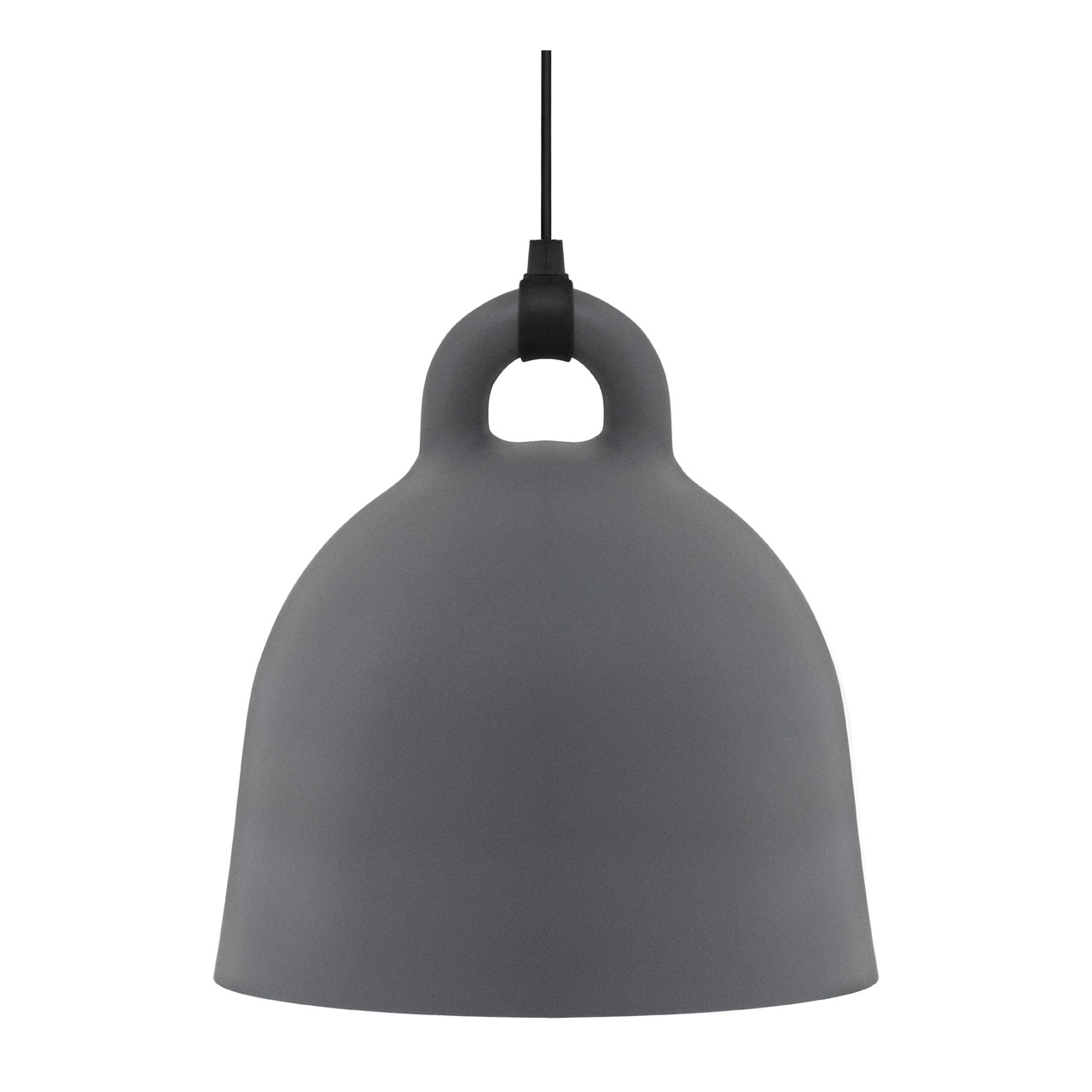 Bell Lamp Large grey von Normann Copenhagen