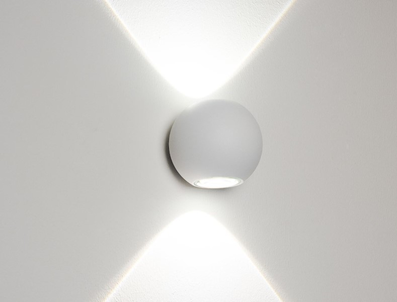 NELL WALL LED Wandleuchte von Molto Luce in weiß