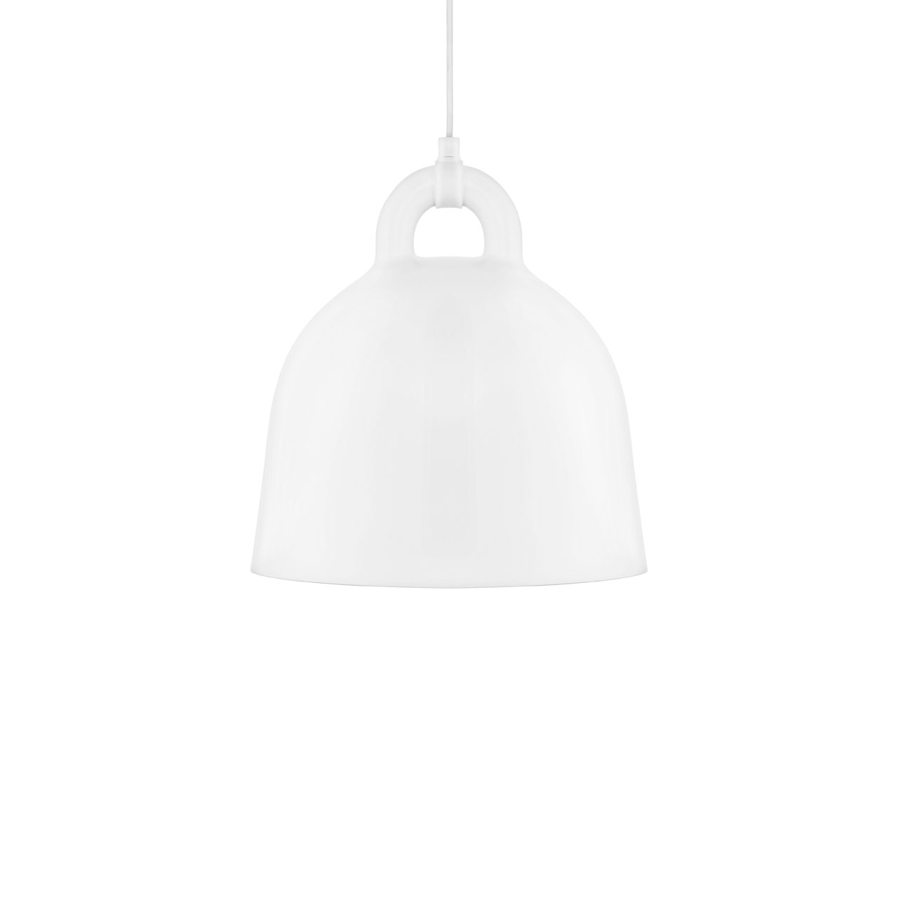 Bell Lamp Small white von Normann Copenhagen